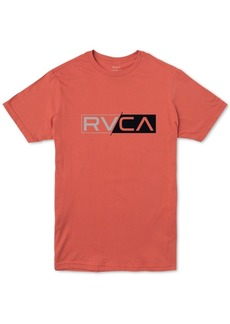 Rvca Men's Lateral Logo Graphic T-Shirt