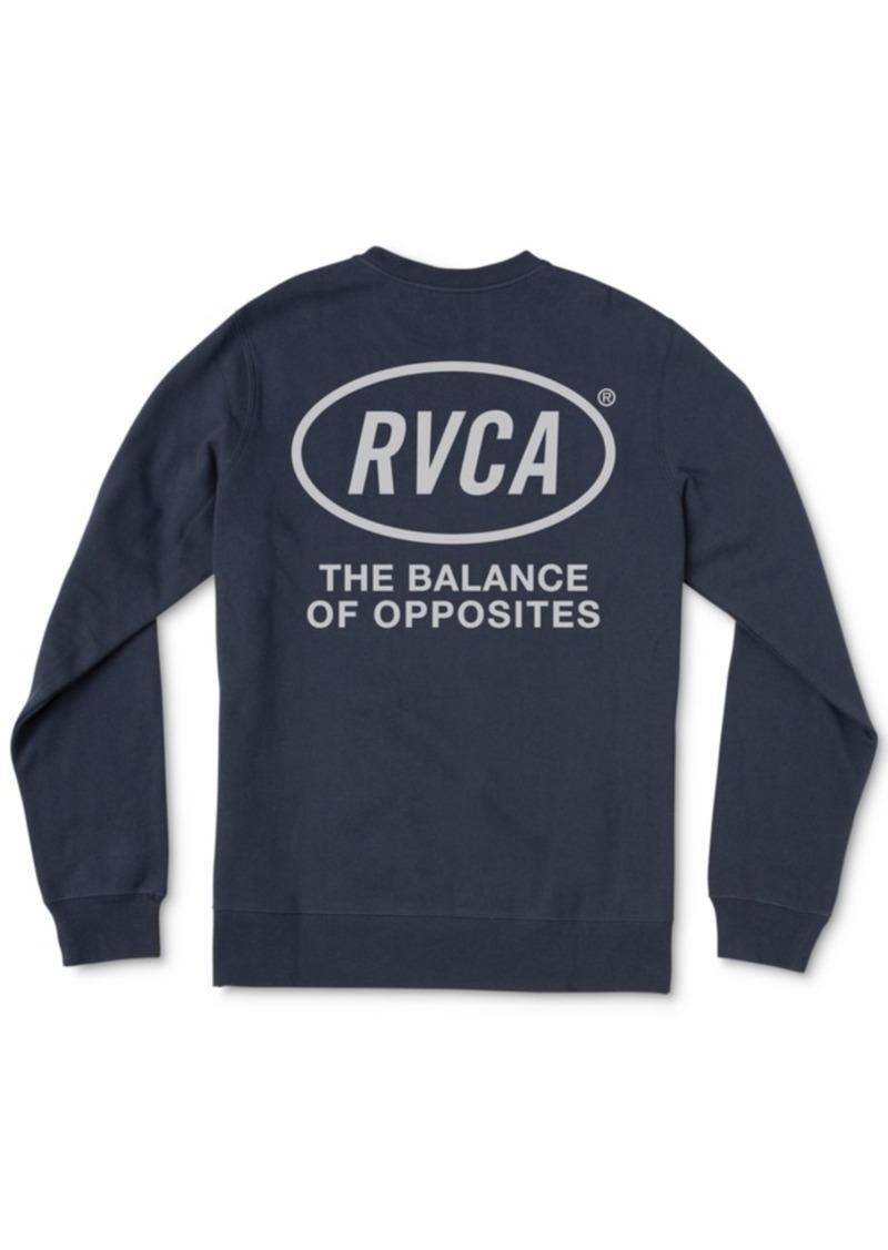 Rvca Men's Leisure Graphic Sweatshirt