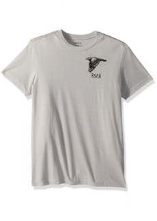 RVCA Men's Living Conditions Short Sleeve T-Shirt  M