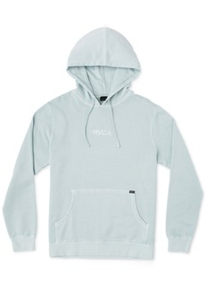 Rvca Men's Logo Graphic Fleece Hoodie