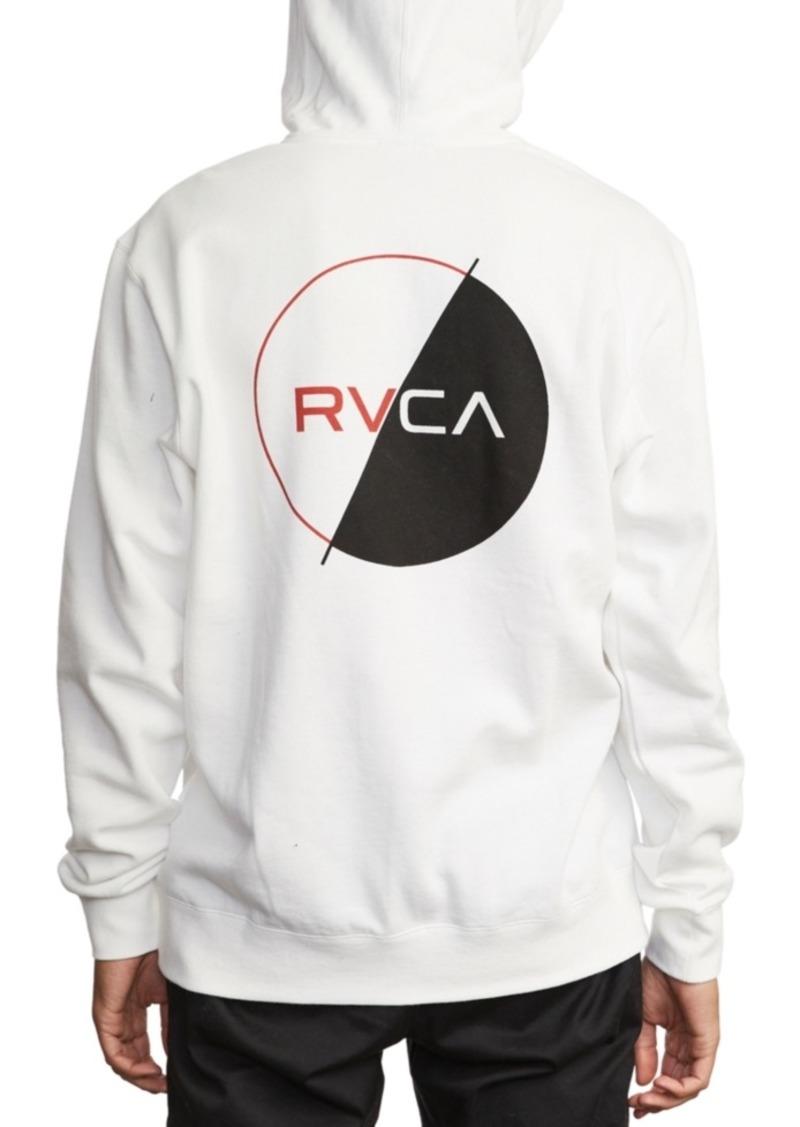 Rvca Men's Logo Pack Graphic Hoodie