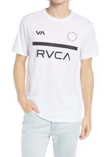 RVCA Men's Mid Bar Performance Graphic Tee