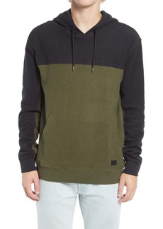 RVCA Men's Mifflin Colorblock Hooded Sweatshirt