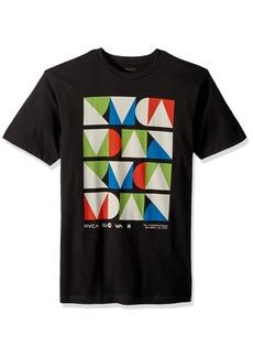 RVCA Men's Modern Short Sleeve T-Shirt  M
