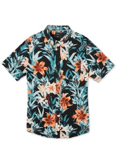Rvca Men's Montague Floral Graphic Shirt