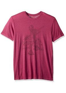 RVCA Men's Mortal Justice Short Sleeve T-Shirt  S