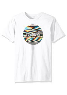 RVCA Men's Motors Fill Short Sleeve T-Shirt  XL