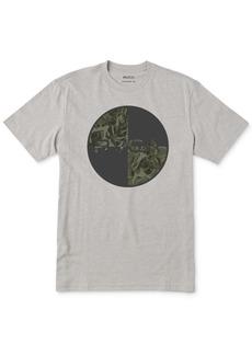 Rvca Men's Motors Mix Logo Graphic T-Shirt