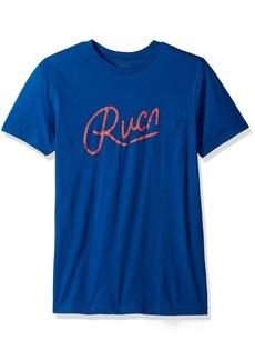 RVCA Men's Mowgli Script Pocket T-Shirt
