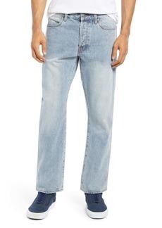 RVCA Men's New Dawn Modern Straight Fit Jeans (Stone Blue)