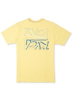 Rvca Men's Offset Logo T-Shirt