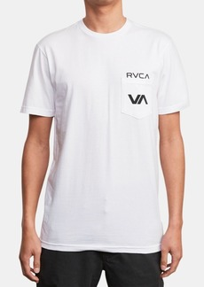 Rvca Men's Over/Under Graphic T-Shirt