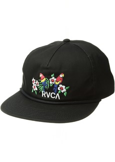 10b243c35ceaa ... buy rvca mens parrots unstructured hat one size e00b1 8cfa3