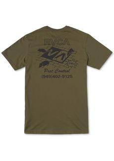Rvca Men's Pest Control Graphic T-Shirt