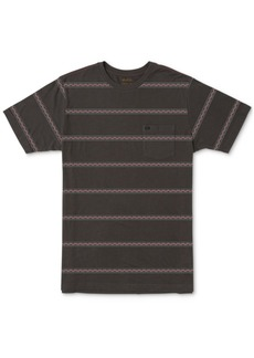Rvca Men's Retro Va Stripe Graphic T-Shirt