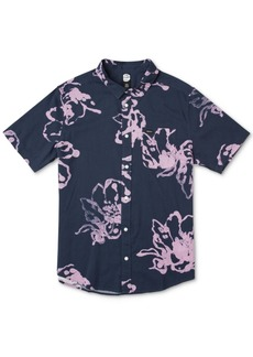 Rvca Men's Sage Vaughn Flora Graphic Shirt