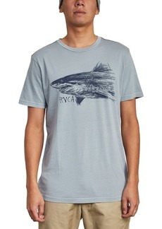 Rvca Men's Sea Song Graphic T-Shirt