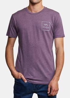 Rvca Men's Segment Logo Graphic T-Shirt