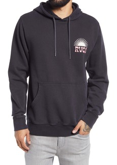 RVCA Men's Set Rise Graphic Hoodie