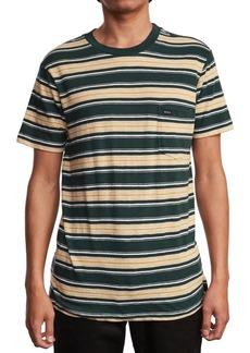 Rvca Men's Slim-Fit Hank Striped Knit T-Shirt