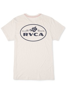 Rvca Men's Slim-Fit Serpent Graphic T-Shirt