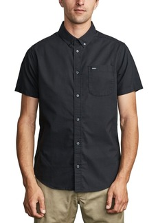 Rvca Men's Slim-Fit That'll Do Stretch Short Sleeve Shirt