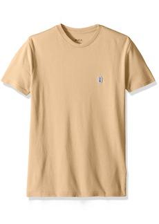 RVCA Men's Stress Short Sleeve Shirt  L