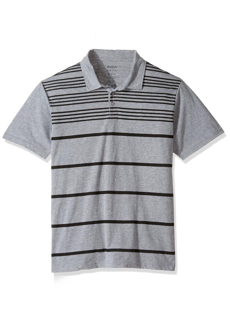 RVCA Men's Sure Thing Stripe 2 Polo Shirt