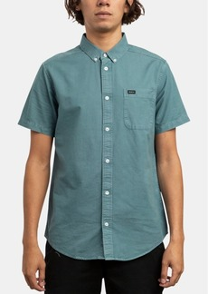 Rvca Men's That'll Do Butter Slim-Fit Oxford Shirt