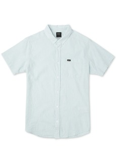 Rvca Men's That'll Do Hi Grade Slim-Fit Shirt