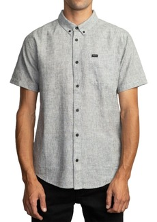 Rvca Men's That'll Do Stretch Textured Shirt