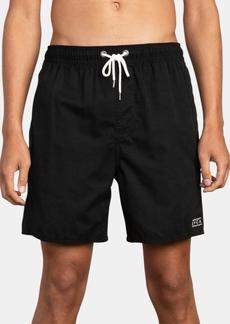 "Rvca Men's Tom Gerrard Embroidered 17"" Board Shorts"