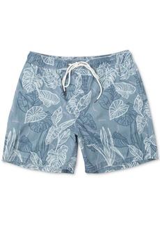 Rvca Men's Tropical-Print Board Shorts