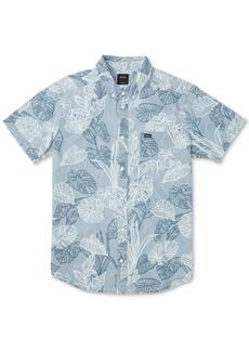 Rvca Men's Tropical-Print Shirt