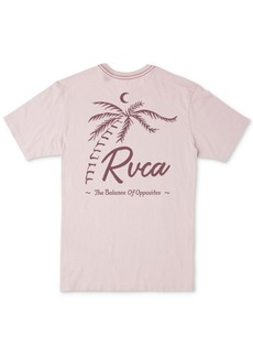 Rvca Men's Tropicale Logo Graphic T-Shirt