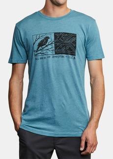 Rvca Men's Tweet Tweet Graphic T-Shirt