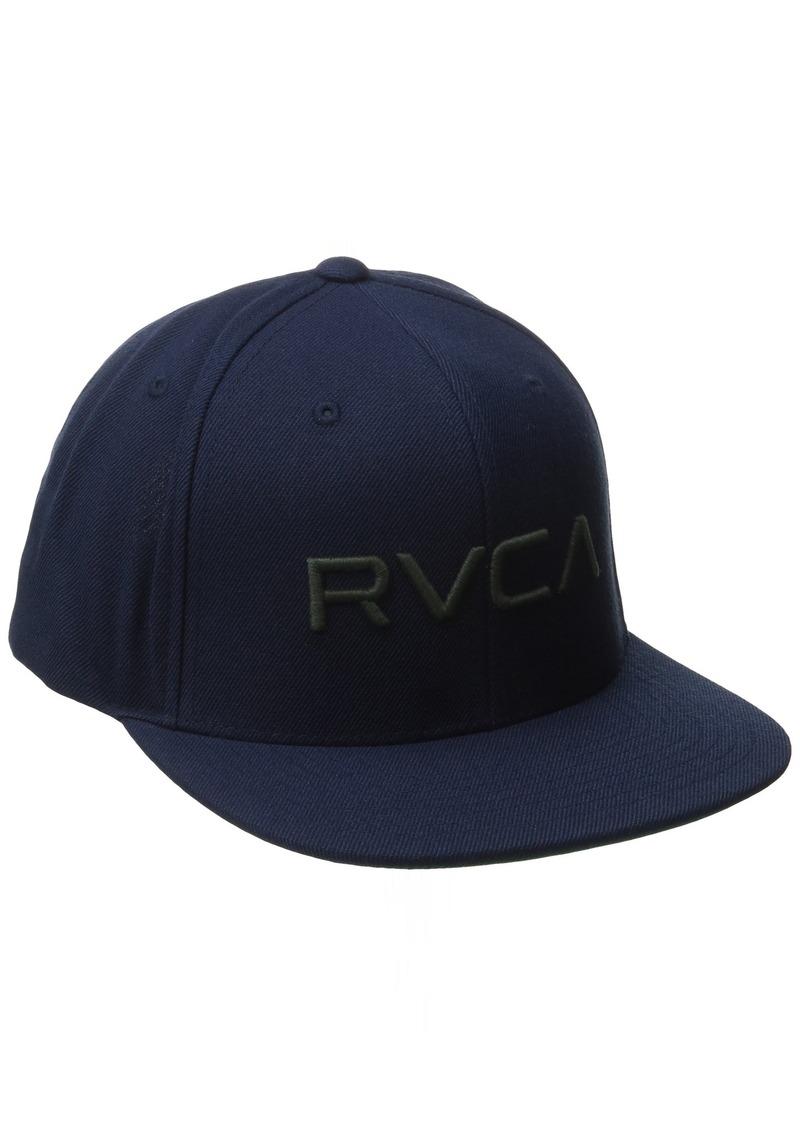 new arrivals 1d148 d0386 Men s Twill Snapback Hat. RVCA