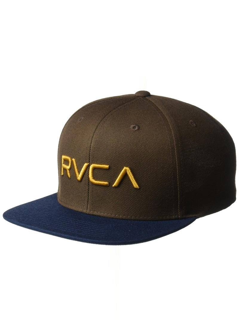 RVCA RVCA Men s Twill Snapback Hat Now  21.53 - Shop It To Me 20983eb910ce