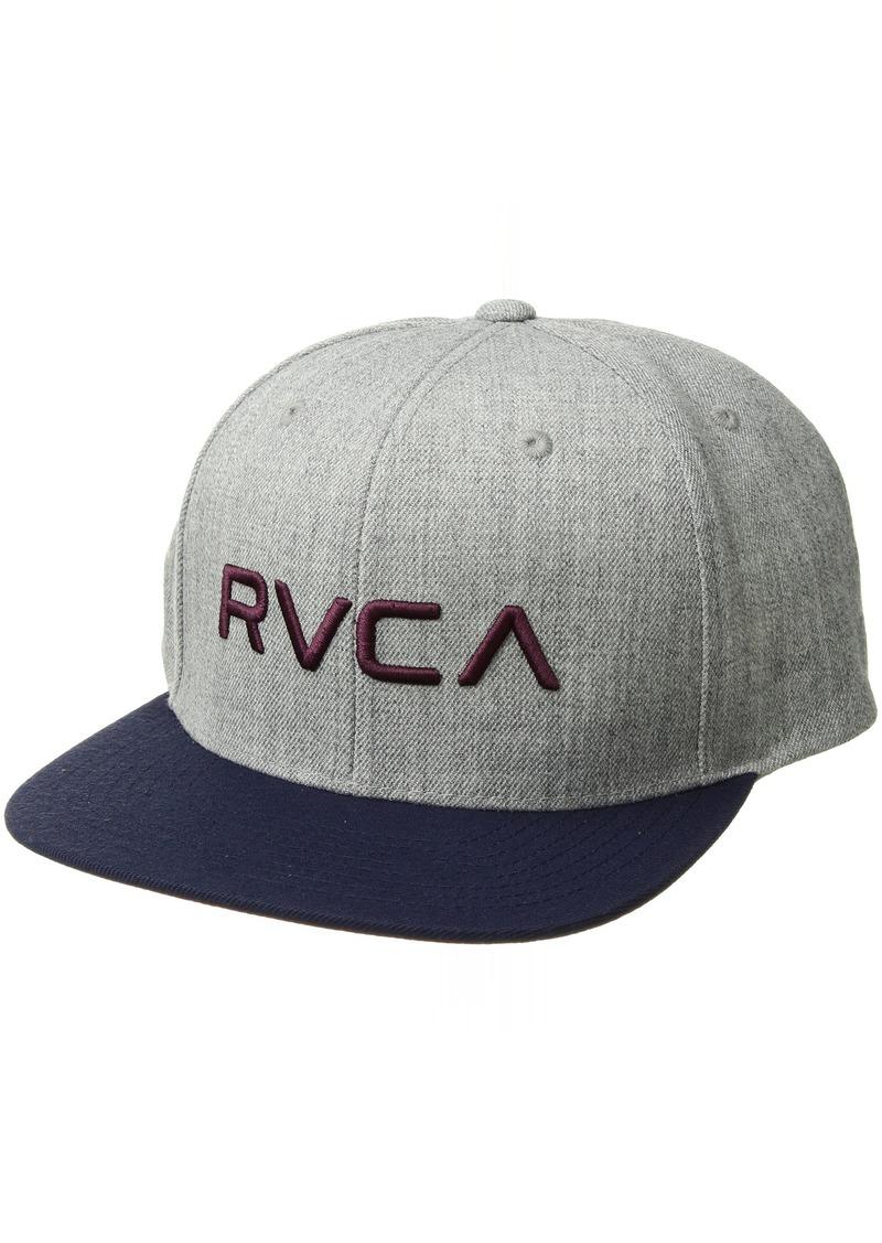new arrival ff650 18576 Men s Twill Snapback Hat EA. RVCA
