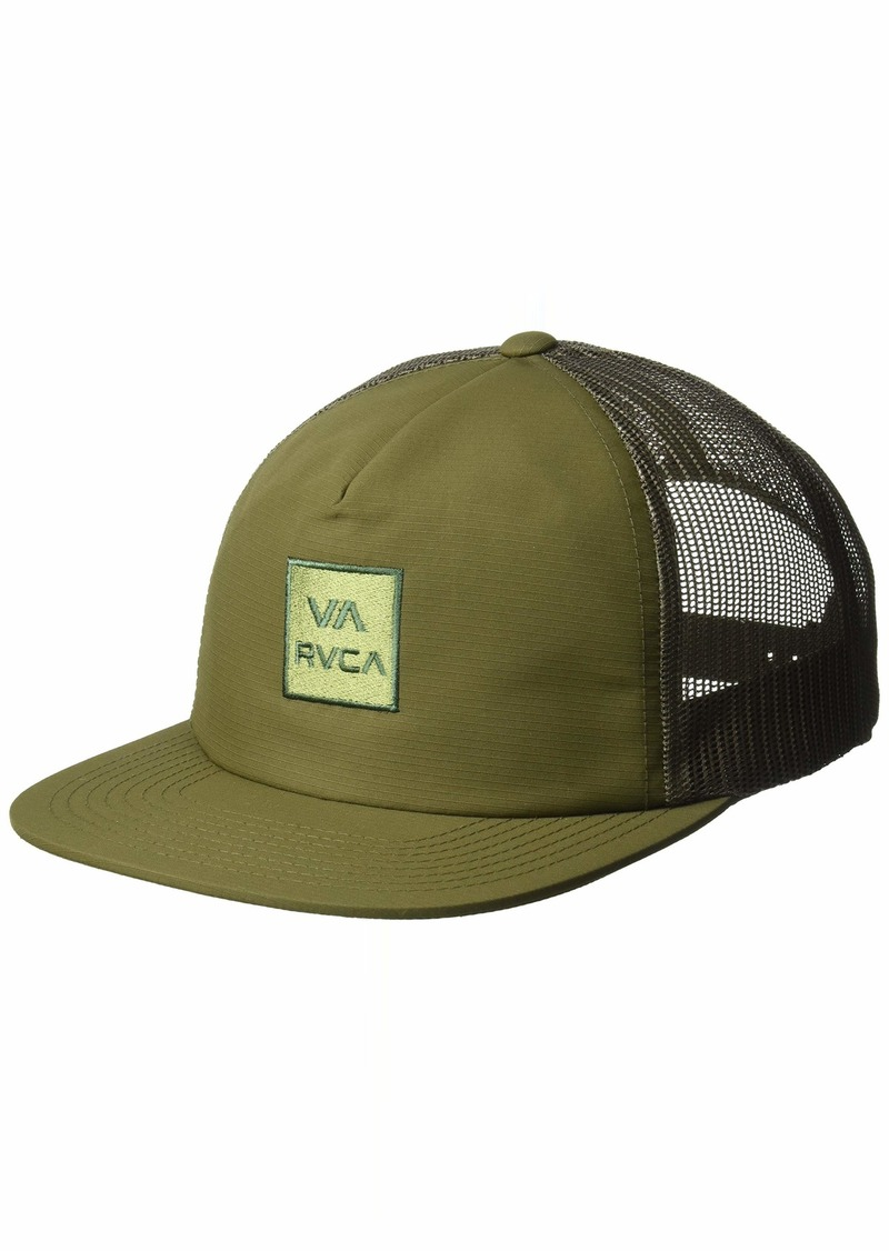 1562d089a77 SALE! RVCA RVCA Men s Va All The Way Mesh Back Trucker Hat