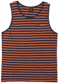 Rvca Men's Vincent Stripe Tank