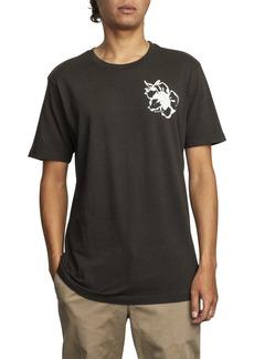 RVCA Mono Flower Graphic T-Shirt