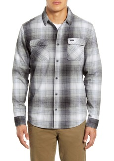 RVCA Muir Button-Up Flannel Shirt