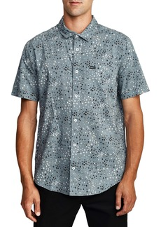 RVCA Oliver Floral Short Sleeve Button-Up Shirt