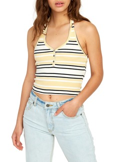 RVCA On the Fence Halter Top