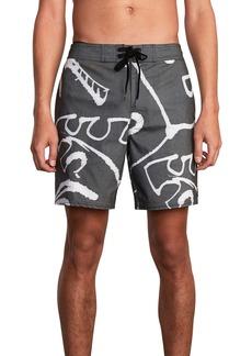 RVCA Palm Scribble Board Shorts