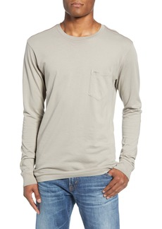 RVCA Pigment Dyed Long Sleeve Pocket T-Shirt