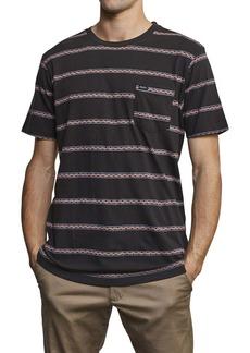 RVCA Retro VA Stripe Pocket T-Shirt