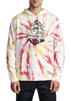 RVCA Scrunch Dye Hooded Sweatshirt