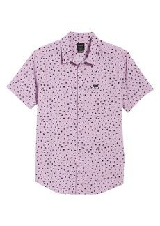 RVCA Shake Along Slim Fit Woven Shirt